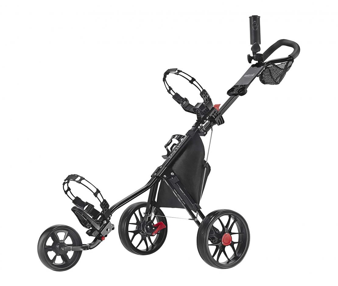CaddyTek CaddyLite 11.5 V3 Deluxe Golf Push Cart
