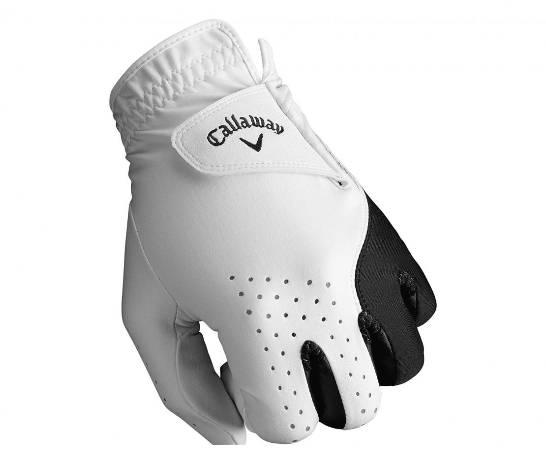 Callaway Golf Men's Weather Spann Premium Japanese Synthetic Golf Glove