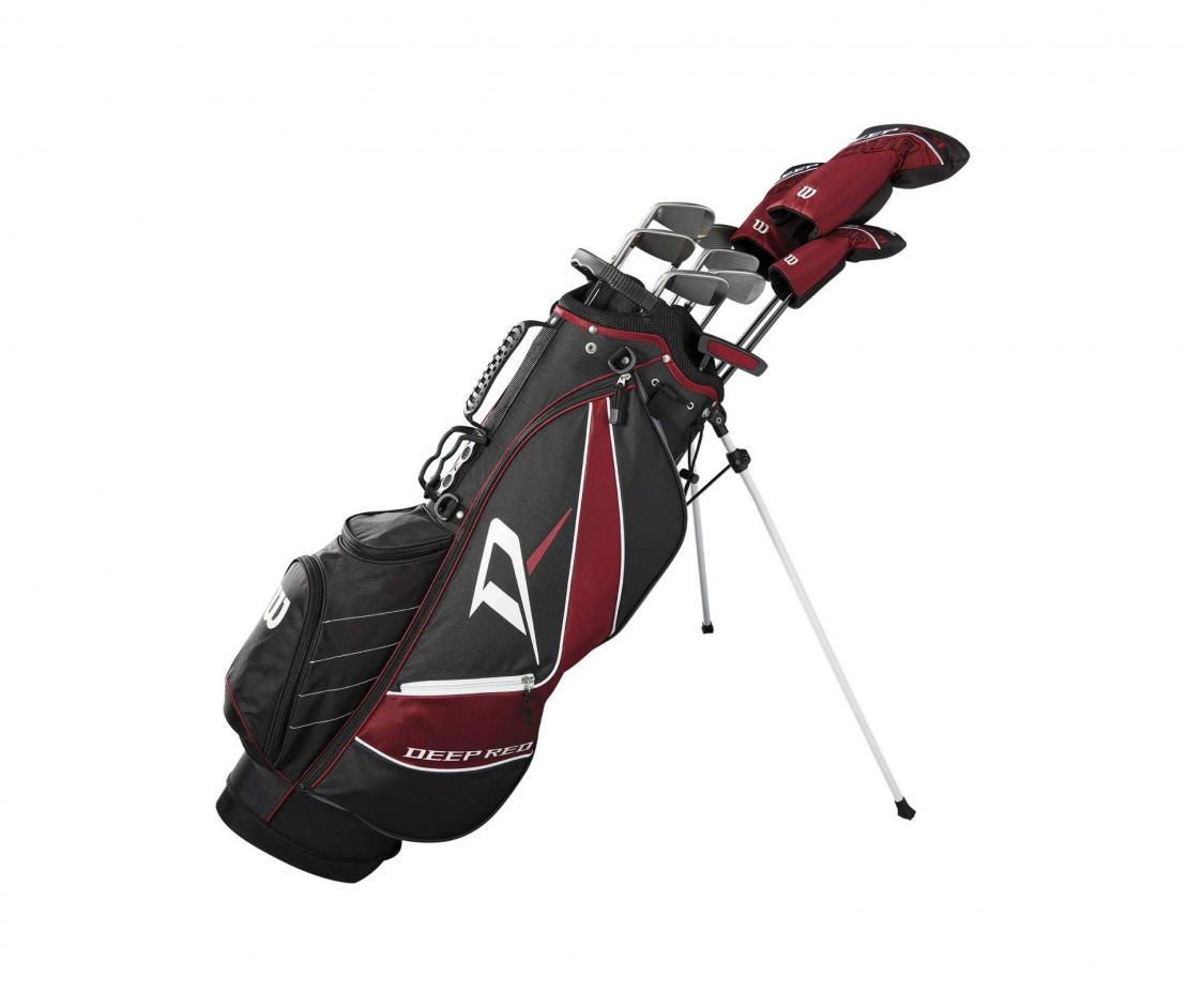 Wilson Staff Deep Red Tour Complete Golf Set